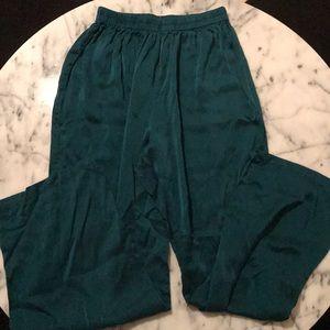 Silk pajama bottoms